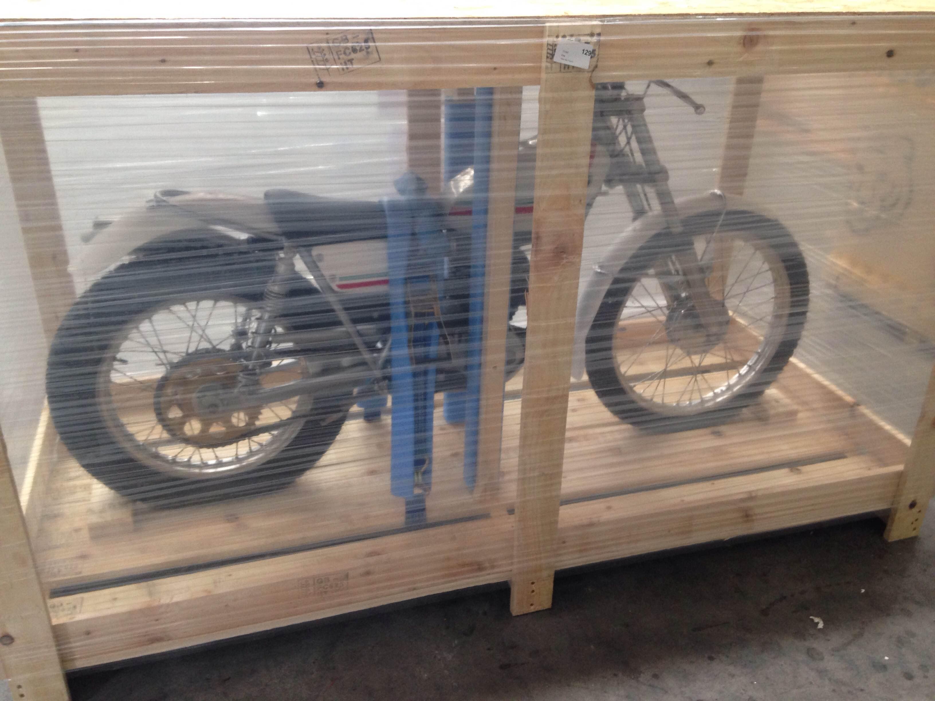 Shipping a motorbike overseas